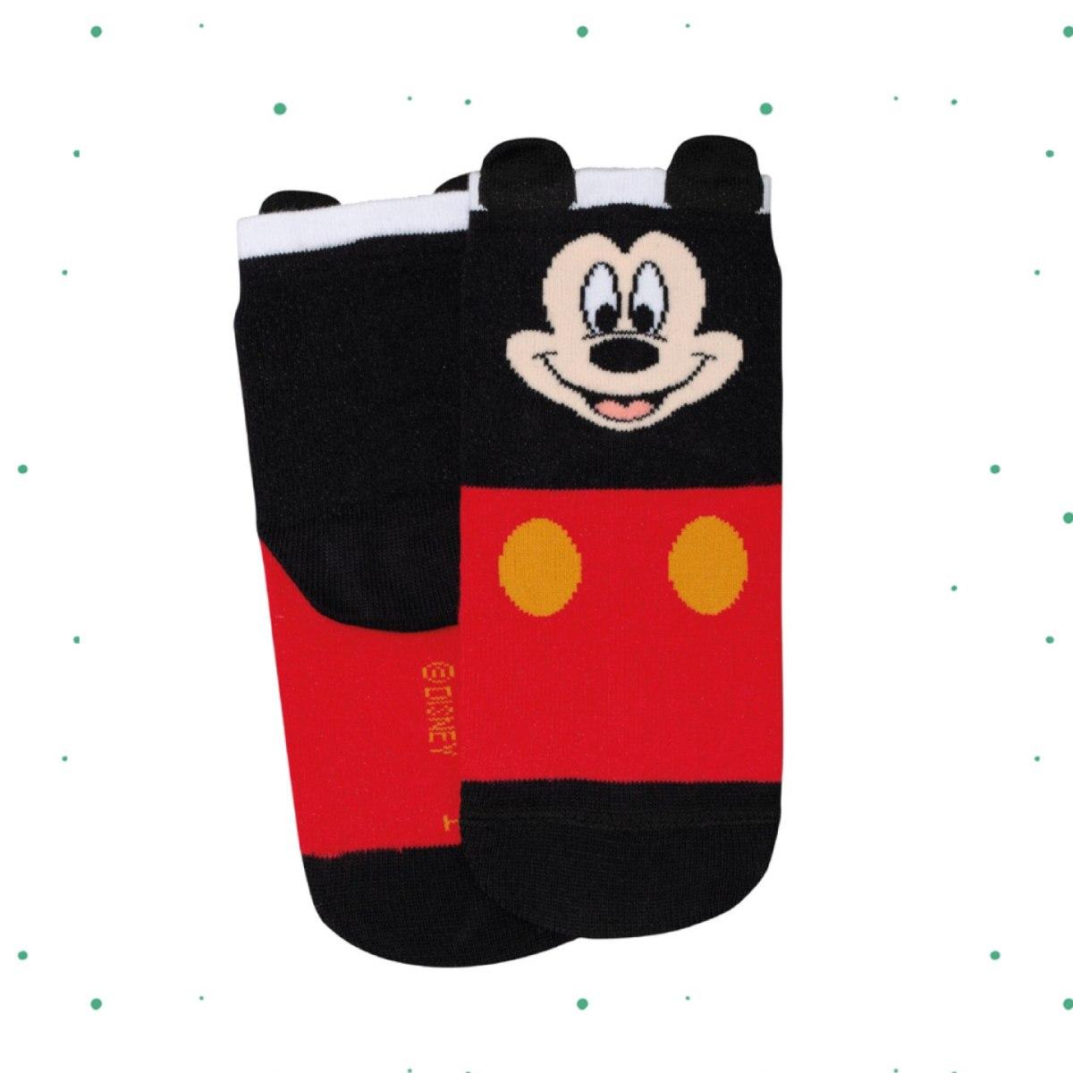 Meia Infantil Lupo Disney Estampa Mickey