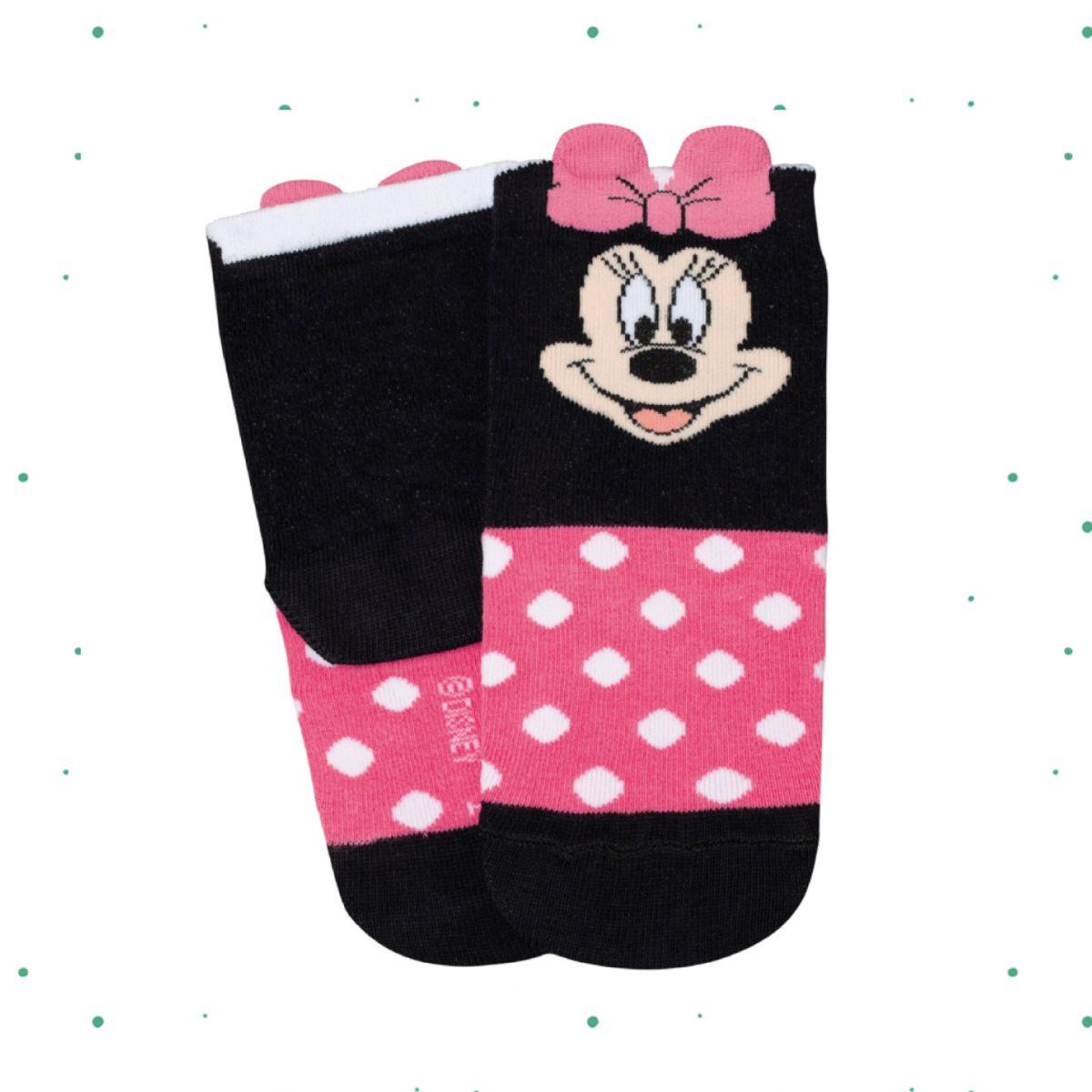 Meia Infantil Lupo Disney Estampa Minnie