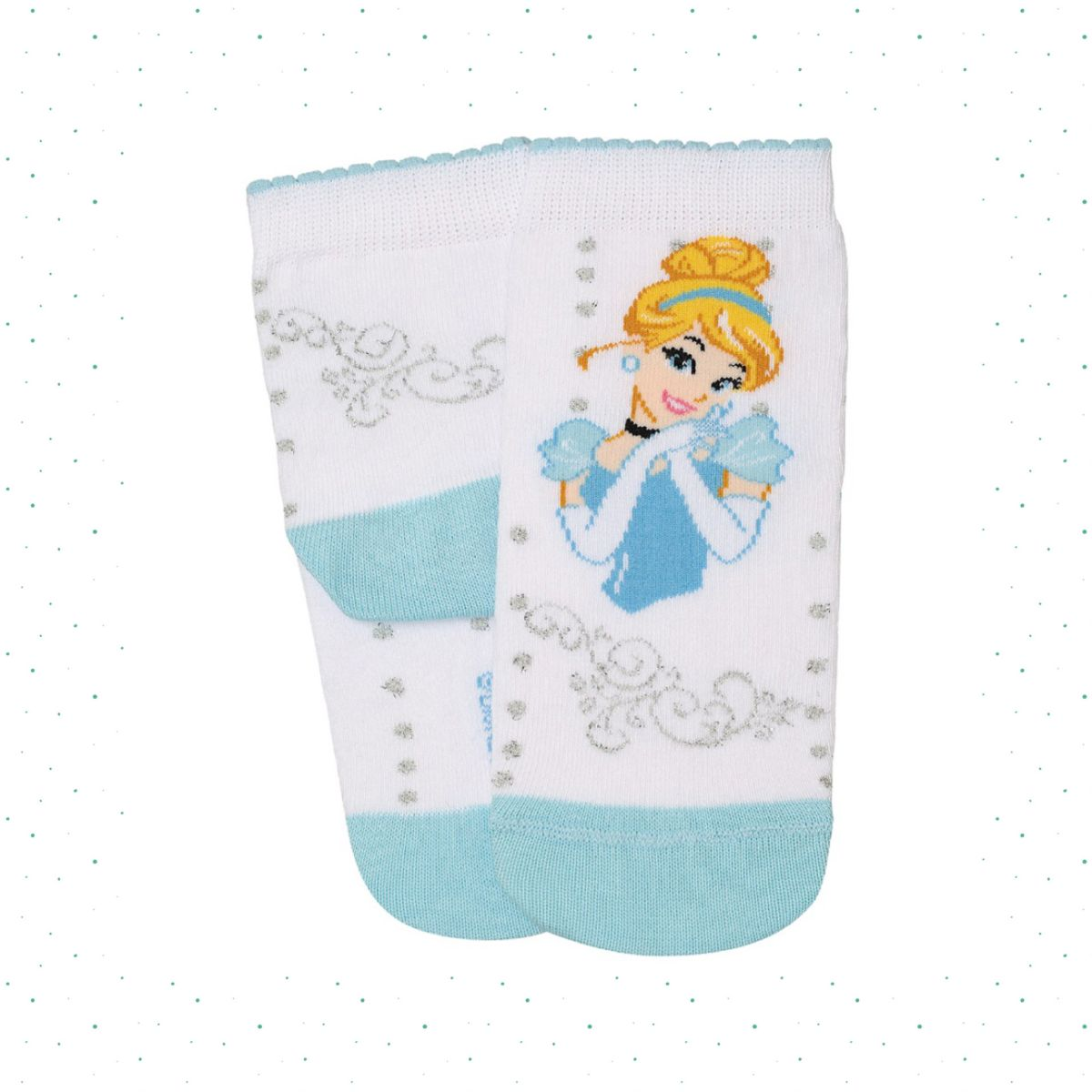 Meia Infantil Lupo Disney Princesas