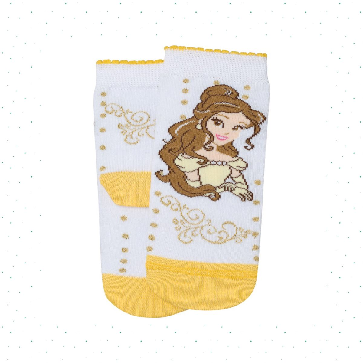 Meia Infantil Lupo Disney Princesas Estampa Bela