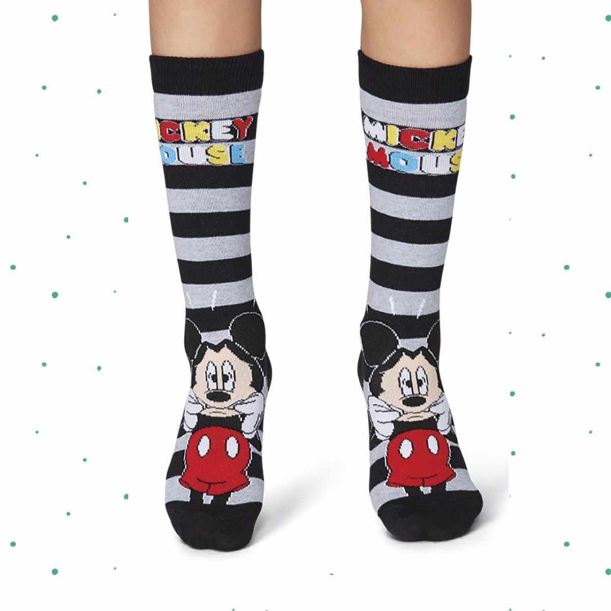 Meia Lupo Kids 3/4 Disney Mickey