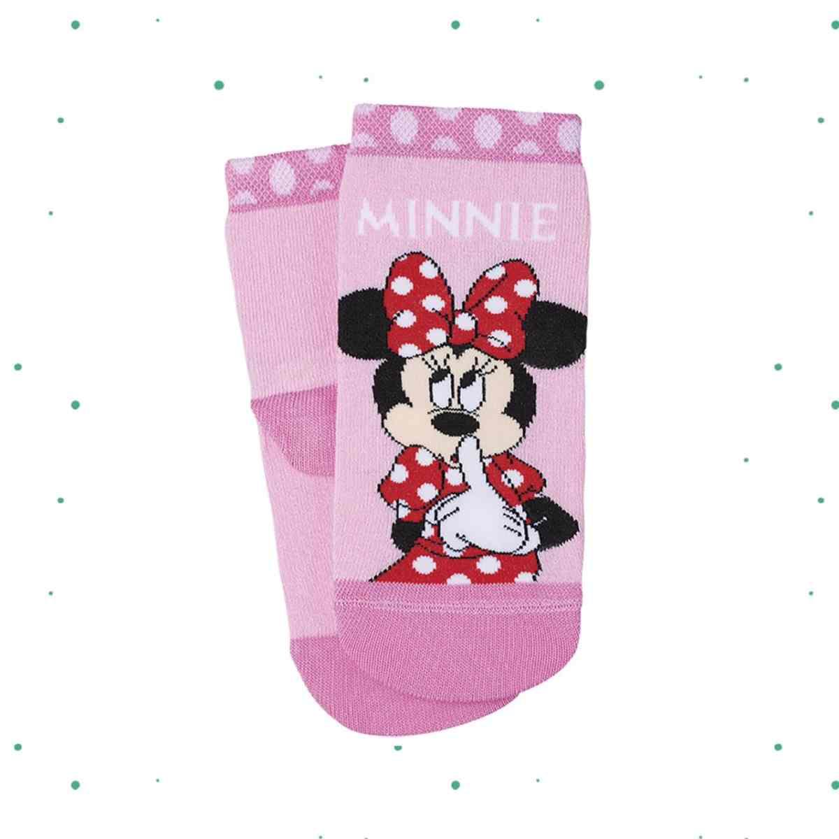 Meia Lupo Kids Cano Médio Disney Minnie