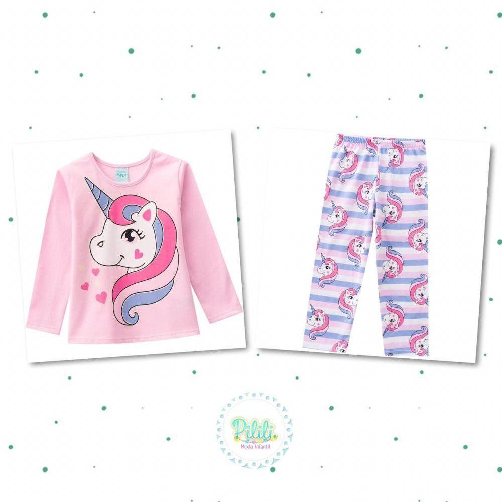 Pijama Menina Kyly em Algodão