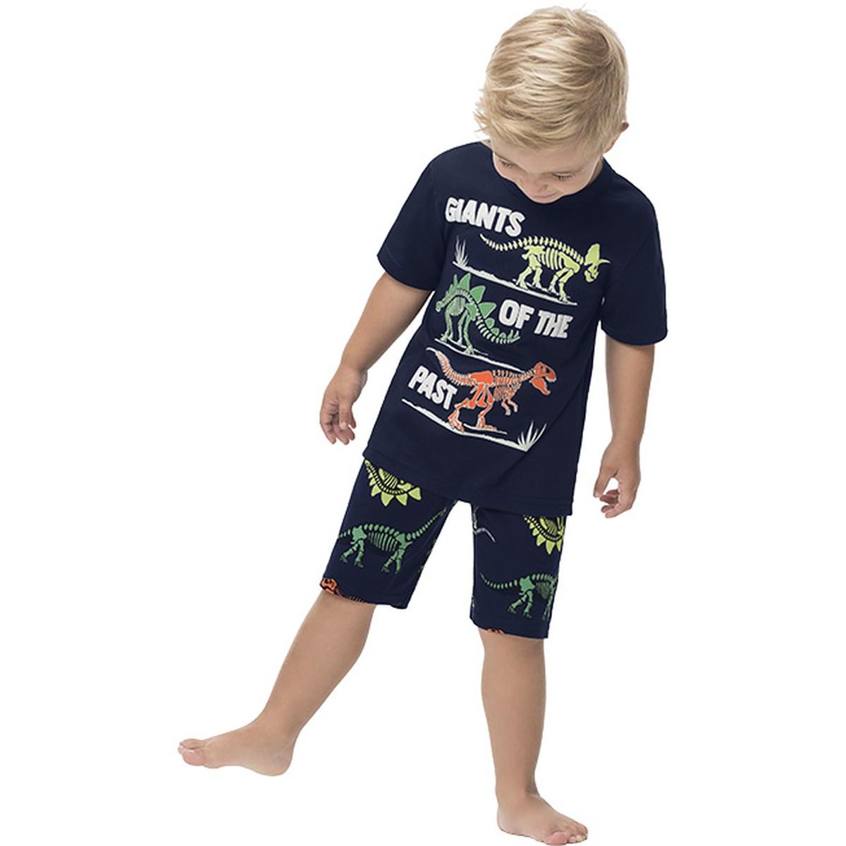 Pijama Menino Kyly Algodão Brilha no Escuro