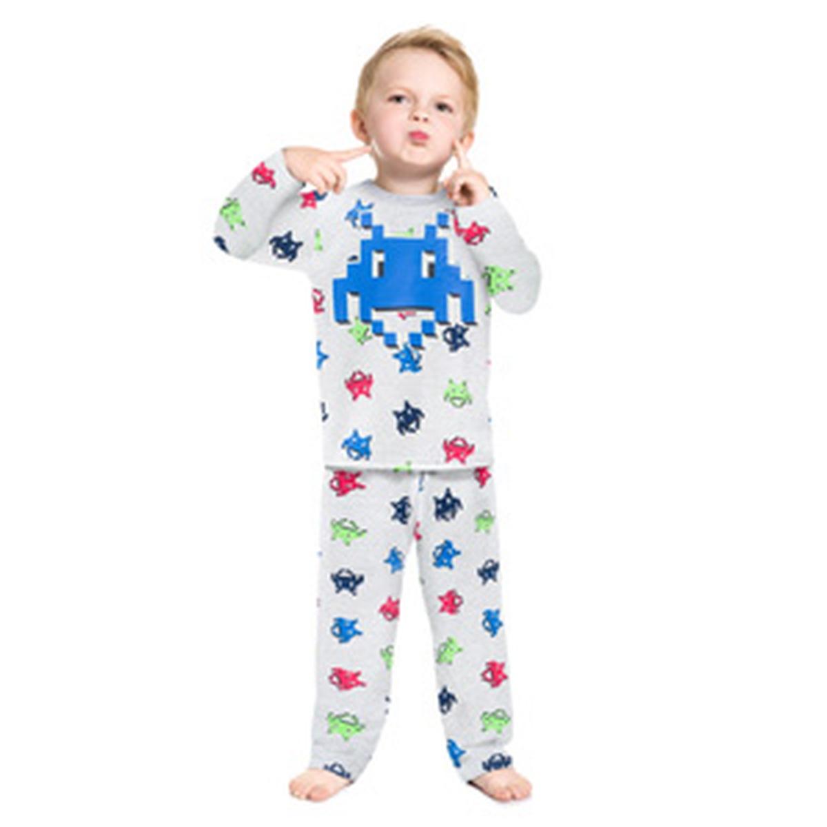 Pijama Menino Kyly Camiseta e Calça em Moletom Peluciado