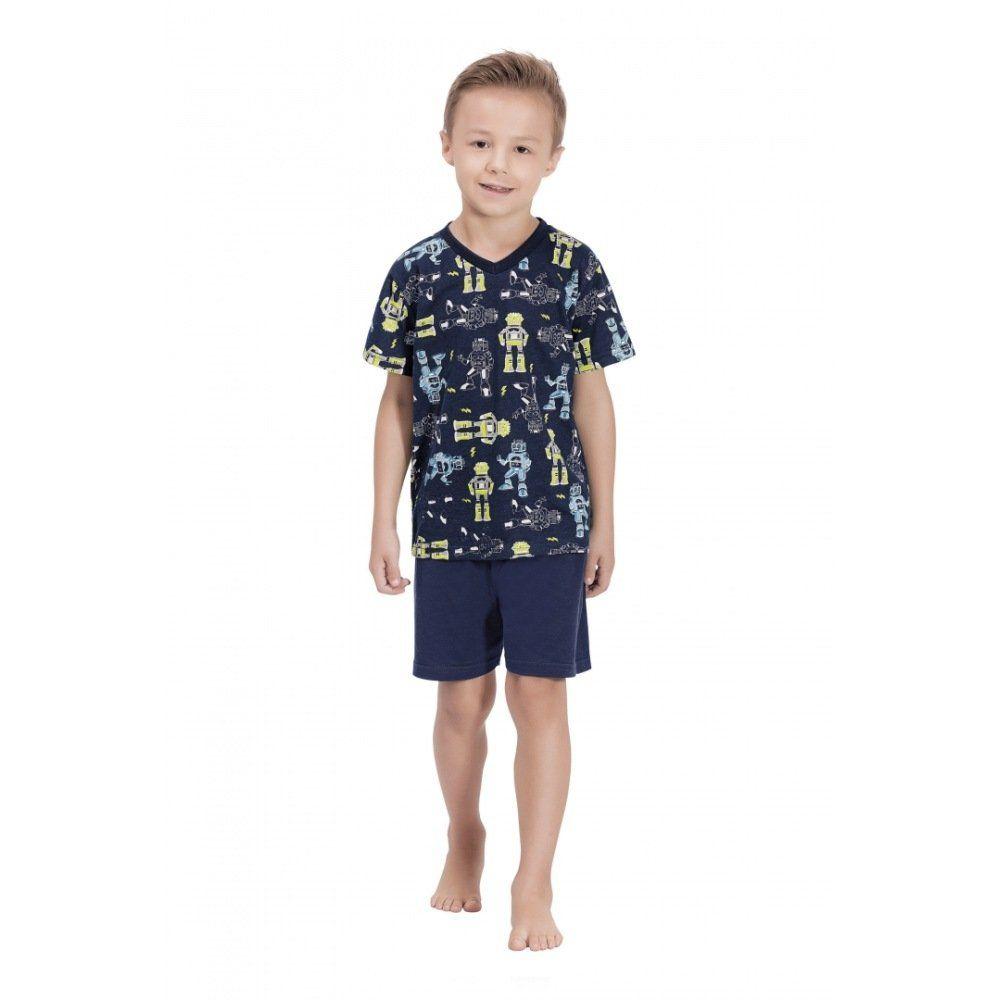 Pijama Quimby Camiseta e Shorts 100% Algodão
