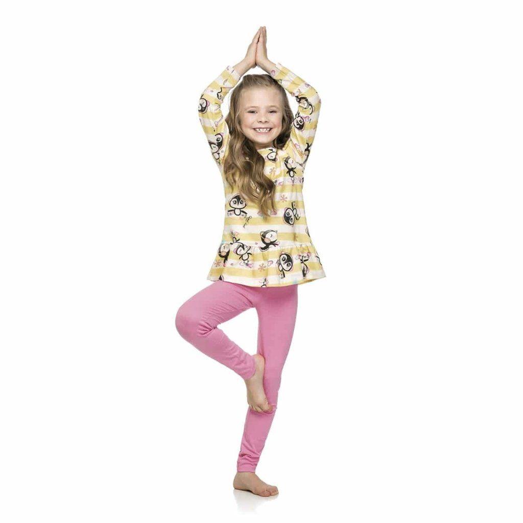 Pijama Quimby em Meia Malha  e Cotton