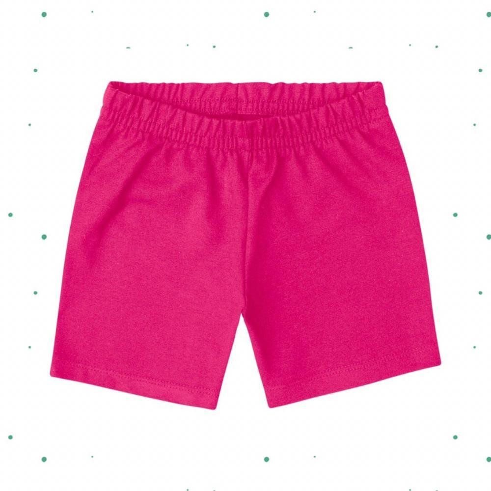 Short Infantil Feminino Kyly em Cotton