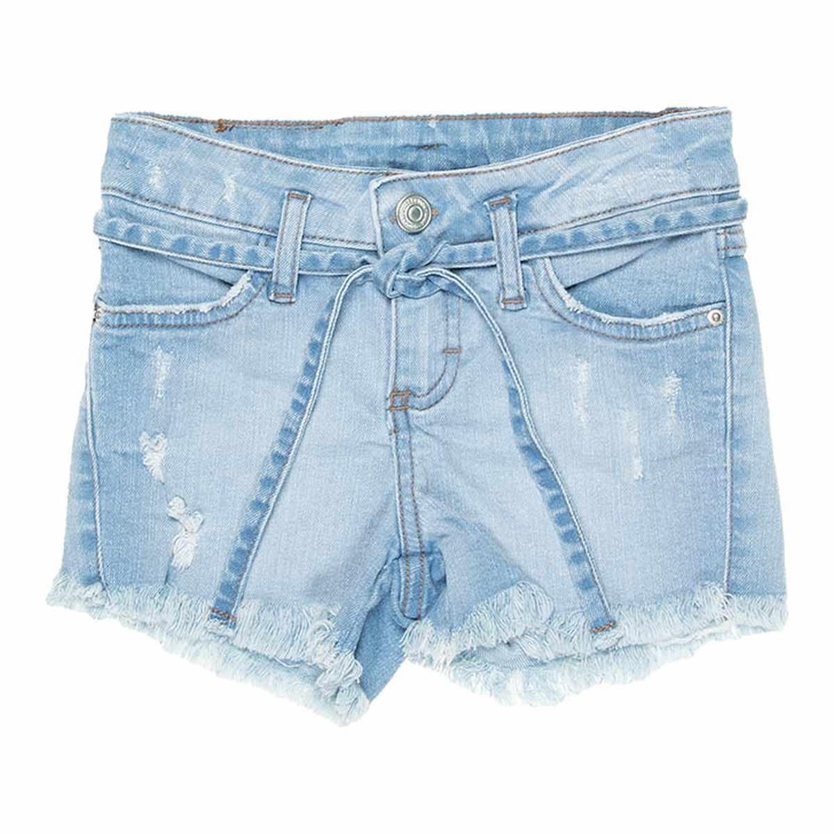 Shorts Jeans Menina - Mania Kids
