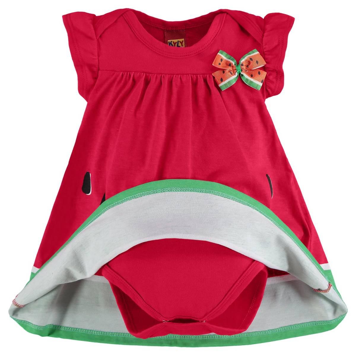 Vestido Bebê Kyly com Body interno