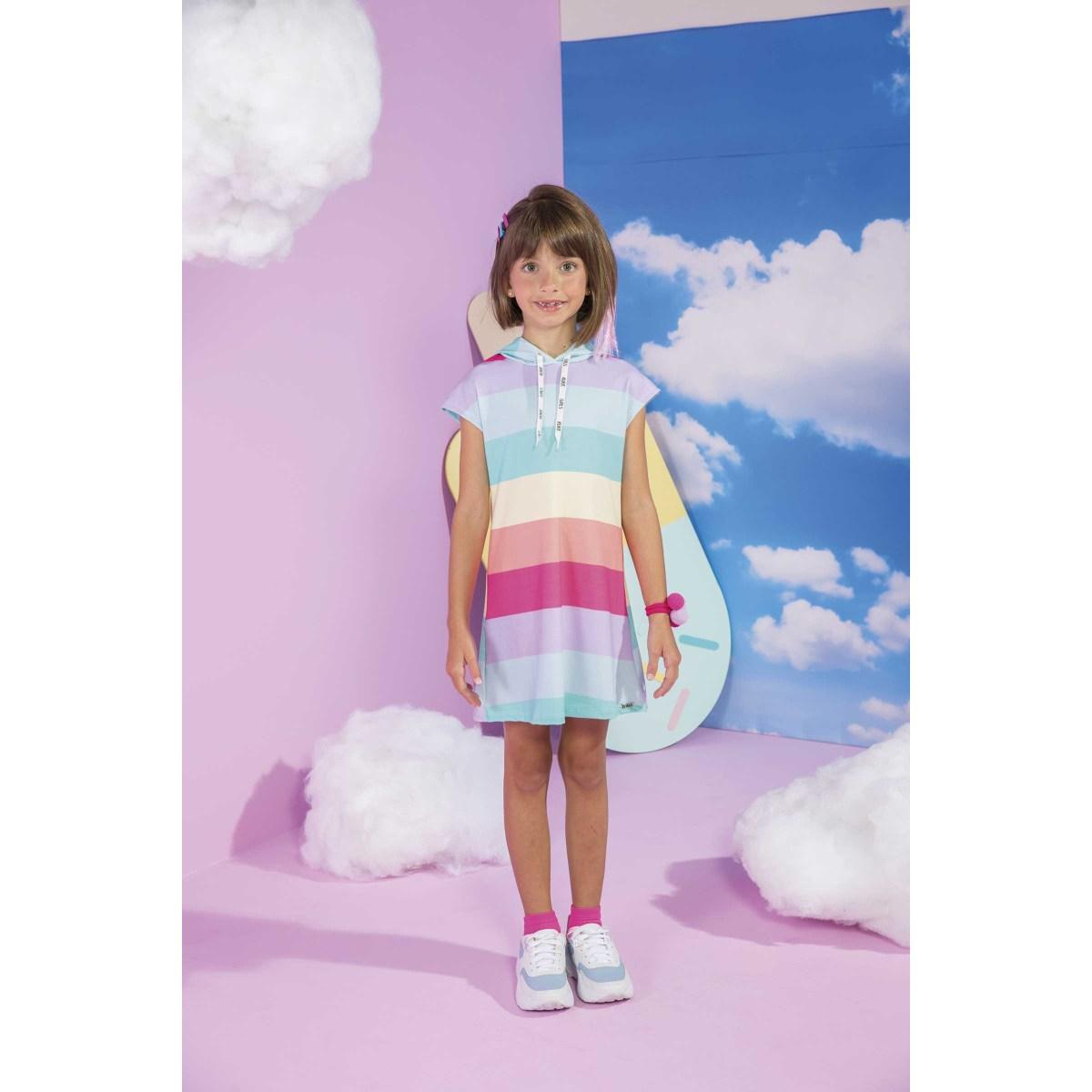 Vestido Infantil Kukiê em Malha Power