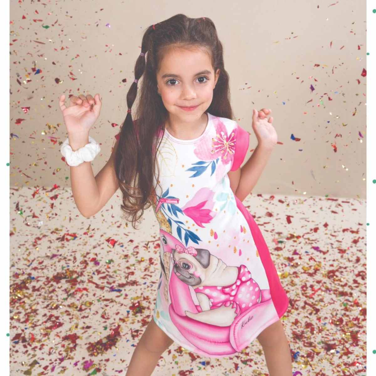 Vestido Infantil Kukiê em Neoprene