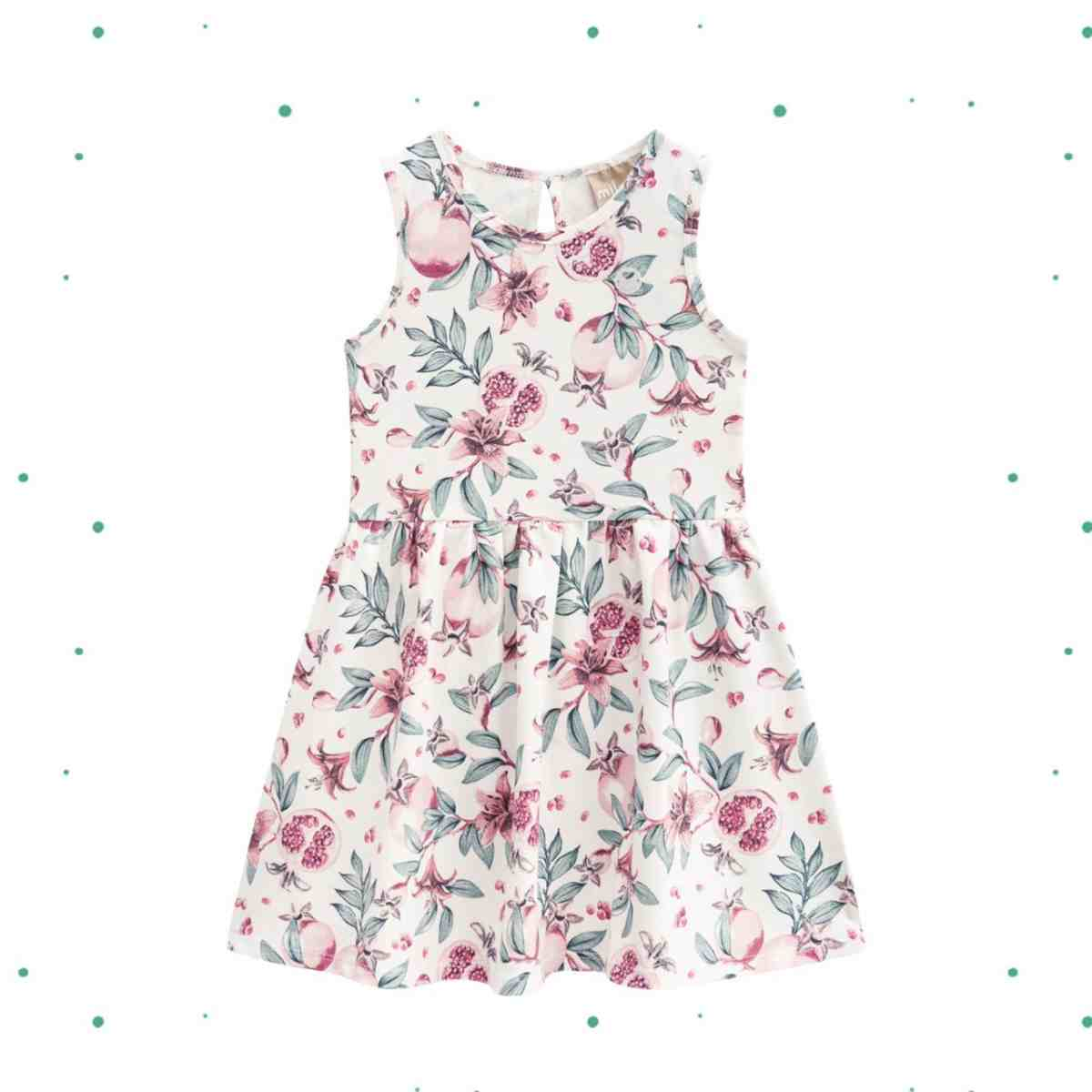 Vestido Infantil Milon em Cotton Estampado