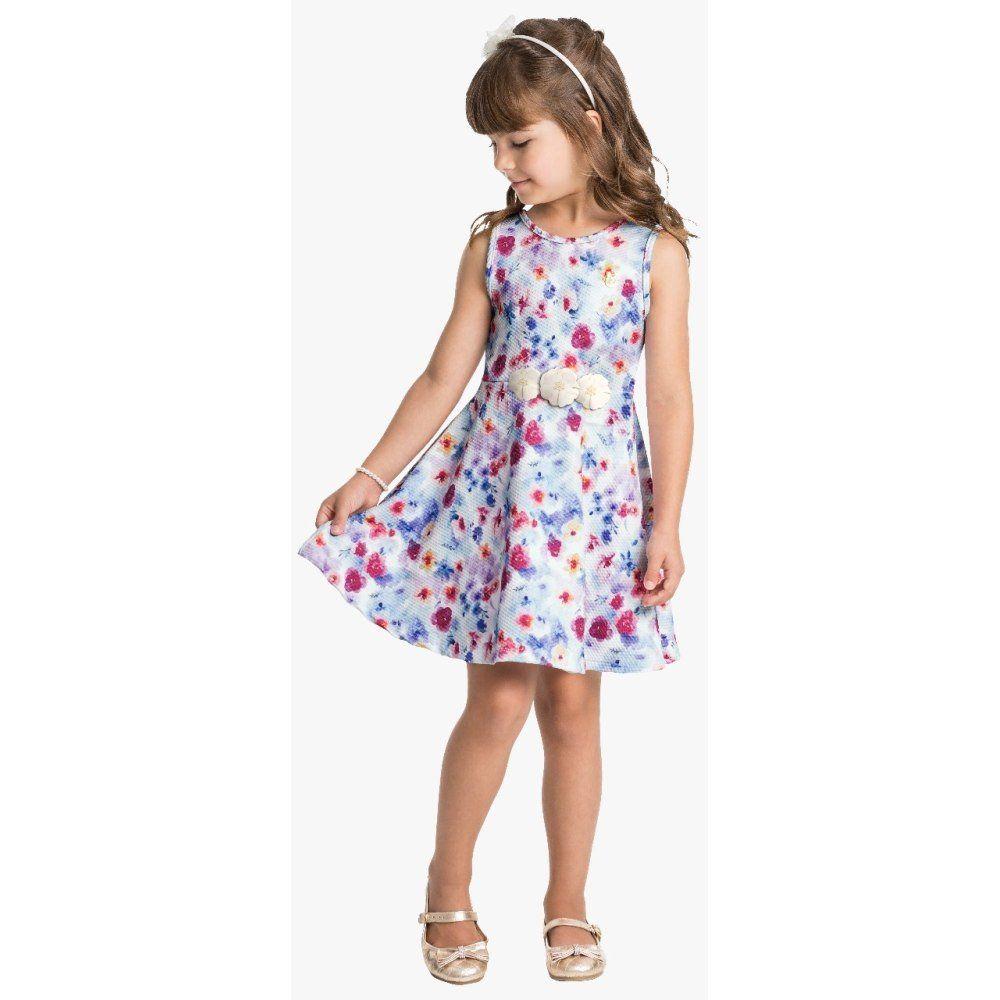Vestido Infantil Milon em Malha Jacquard