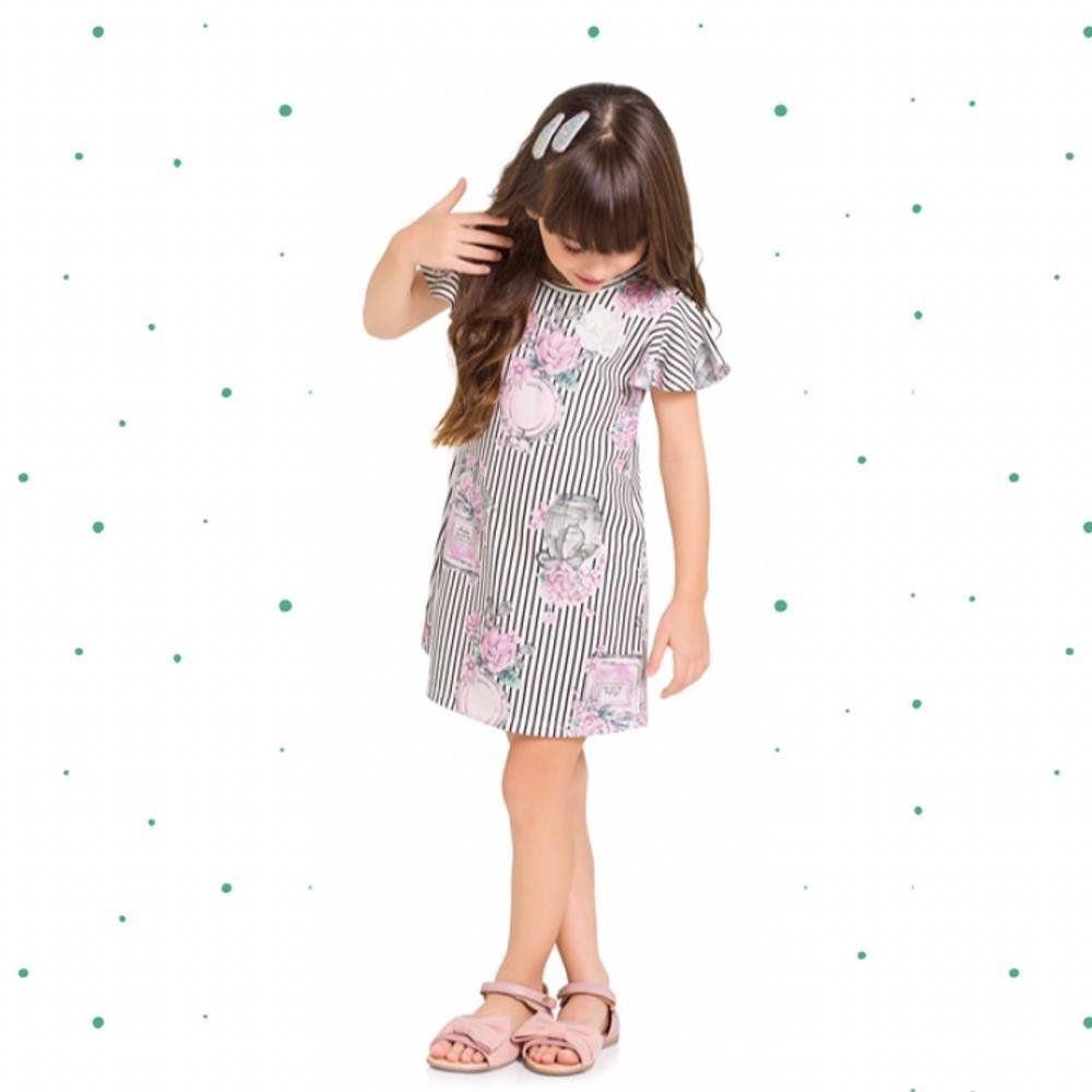 Vestido Infantil Milon Moletinho Leve