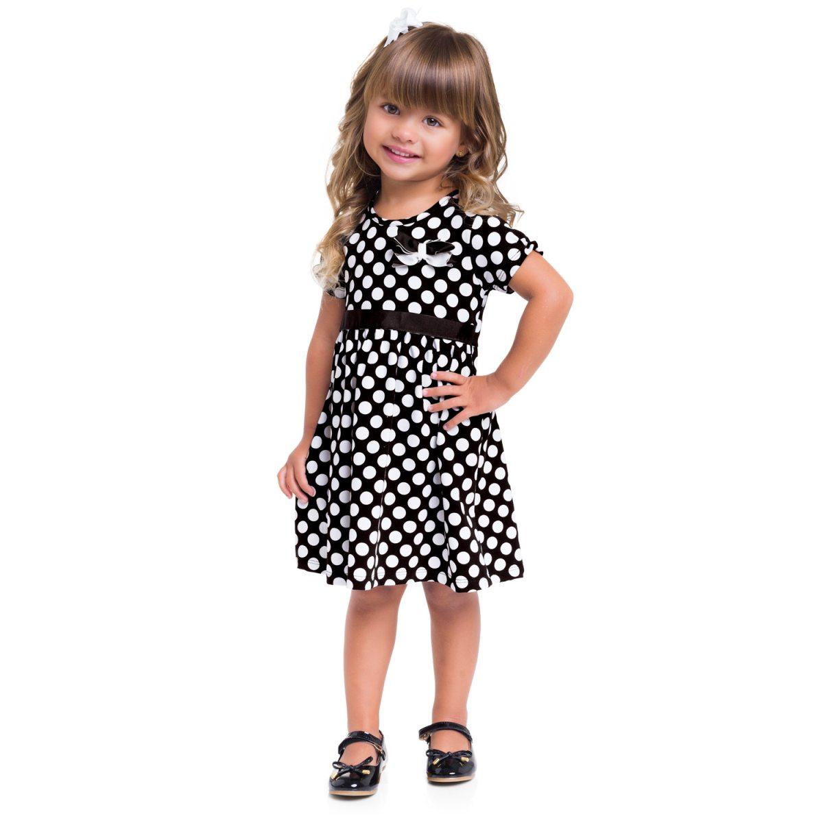 Vestido Menina Milon em Cotton