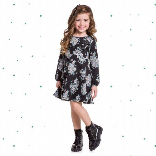 Vestido Milon emCottoncom Estampa Floral