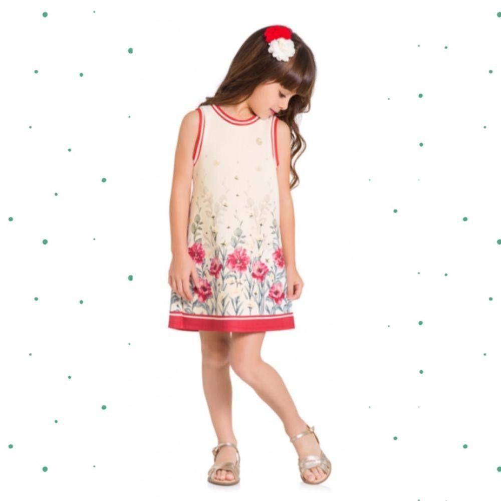 Vestido Regata Infantil Milon em Neoprene