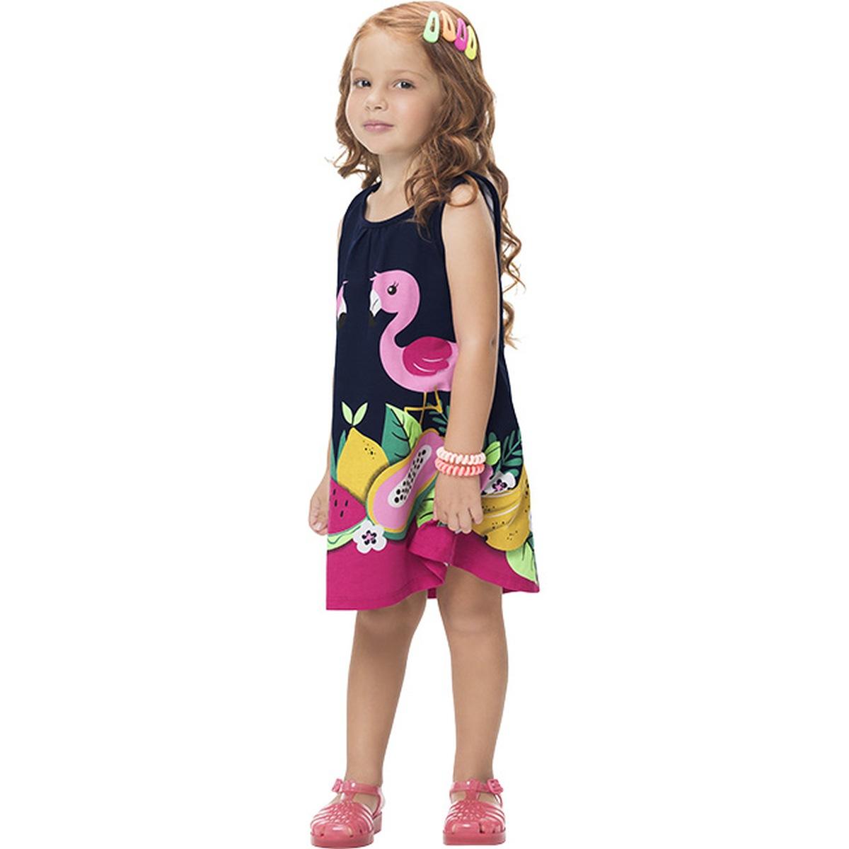 Vestido Regata Menina Kyly em Algodão