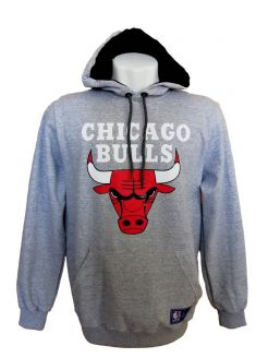 MOLETOM NBA CHICAGO BULLS MESCLA