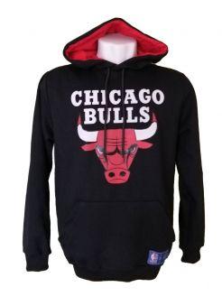 MOLETOM NBA CHICAGO BULLS PRETO
