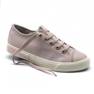 TENIS COCA COLA BLEND LEATHER ROSE/OFF WHITE/ROSE