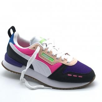 TENIS PUMA R 78 Prism Violet/White/Black