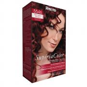Tonalizante Supéria Color Kit 5546 Vermelho Amora 100g Amend
