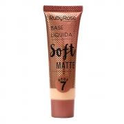 Base Líquida Soft Matte Bege 7 - Ruby Rose