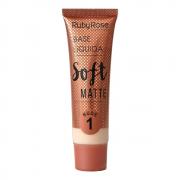 Base Líquida Soft Matte Nude 1 - Ruby Rose