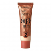 Base Líquida Soft Matte Nude 2 - Ruby Rose