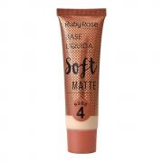 Base Facial Líquida Soft Matte Nude 4 Ruby Rose