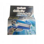 Carga Gillette Mach 3 Turbo c/ 2 Unidades