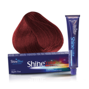 Coloração Shine Color 66.66 Louro Escuro Vermelho Intenso Especial Cereja