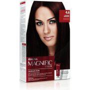 Coloração Creme Amend Kit 4.6 Castanho Borgonha Magnific Color