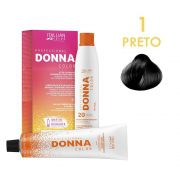 Coloração Donna Color Kit 1.0 Preto 150g