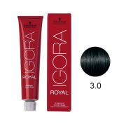 Coloração Igora Royal 3.0 Castanho Escuro 60g.