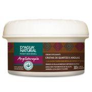 Creme Argiloterapia Café Verde e Argilas D'agua Natural  - 300g.