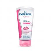 Creme Depi Roll Depilatório Hydrate para Buço Floral 50g.