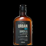 Farmaervas Urban Men 3x1 Shampoo Multifuncional 240ml