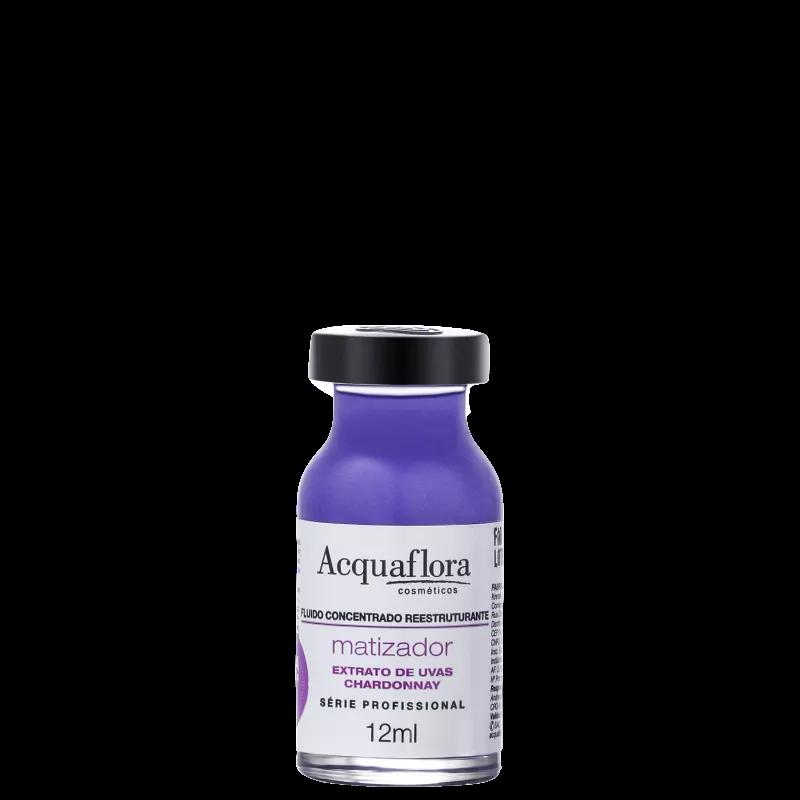Acquaflora Antioxidante Fluído Concentrado Reestruturante Matizador Ampola de Tratamento 12ml