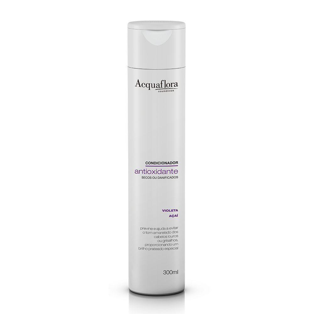 Acquaflora - Condicionador Antioxidante secos ou danificados 300ml.