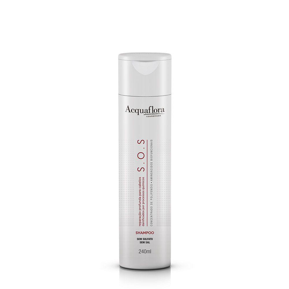 Shampoo S.O.S Acquaflora 240ml.