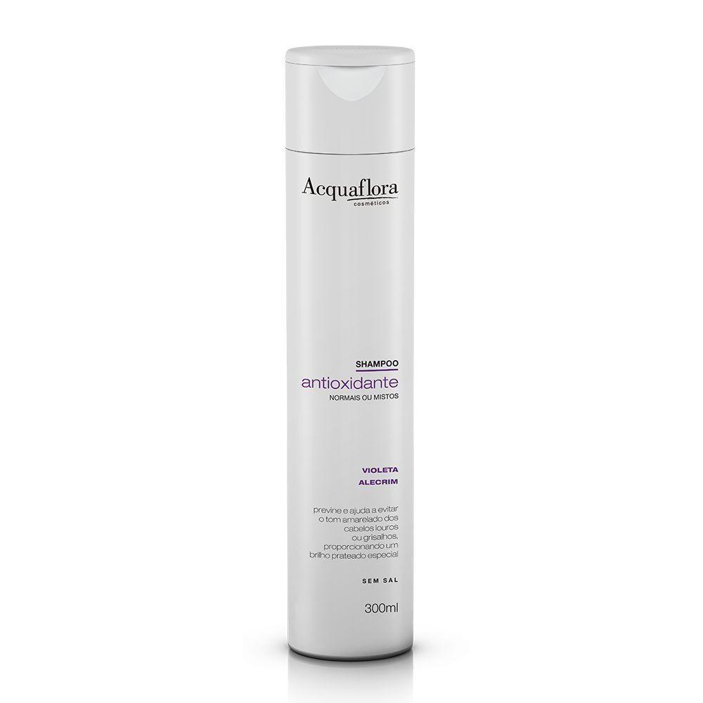 Acquaflora - Shampoo Antioxidante Normais ou Mistos 300ml.