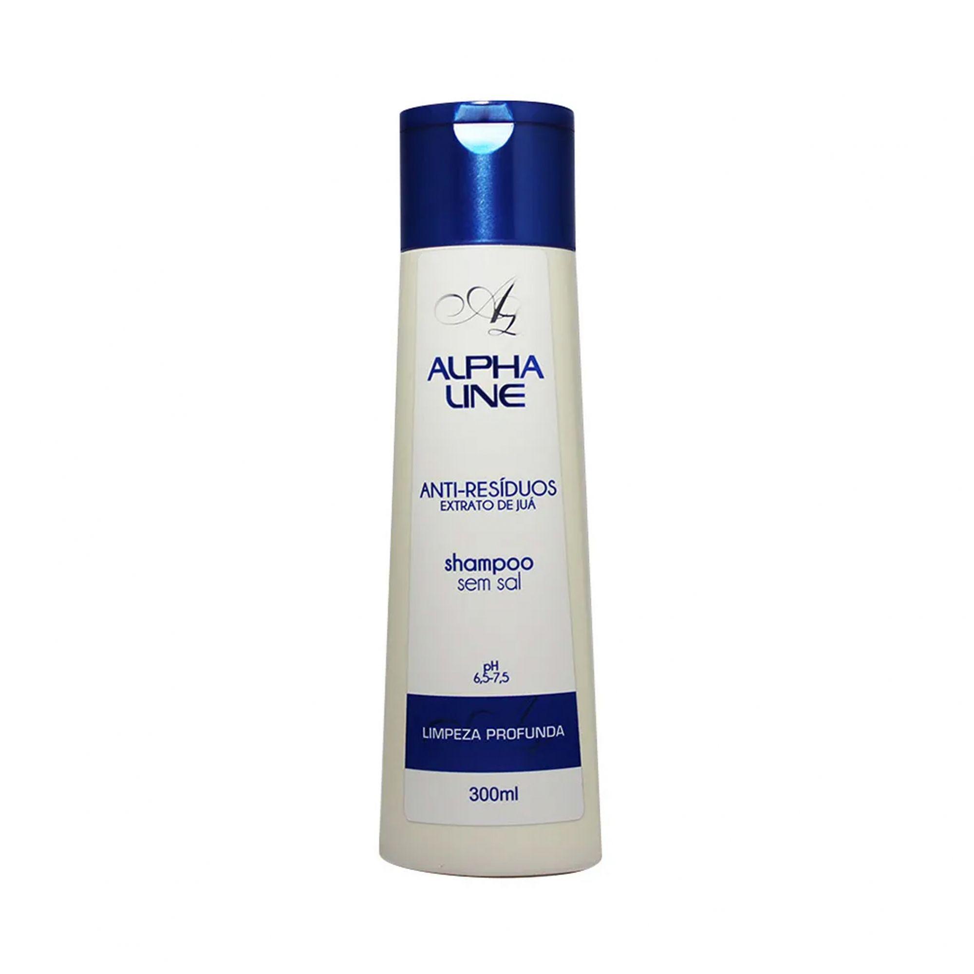 Shampoo Anti-Resíduos 300ml Alpha Line
