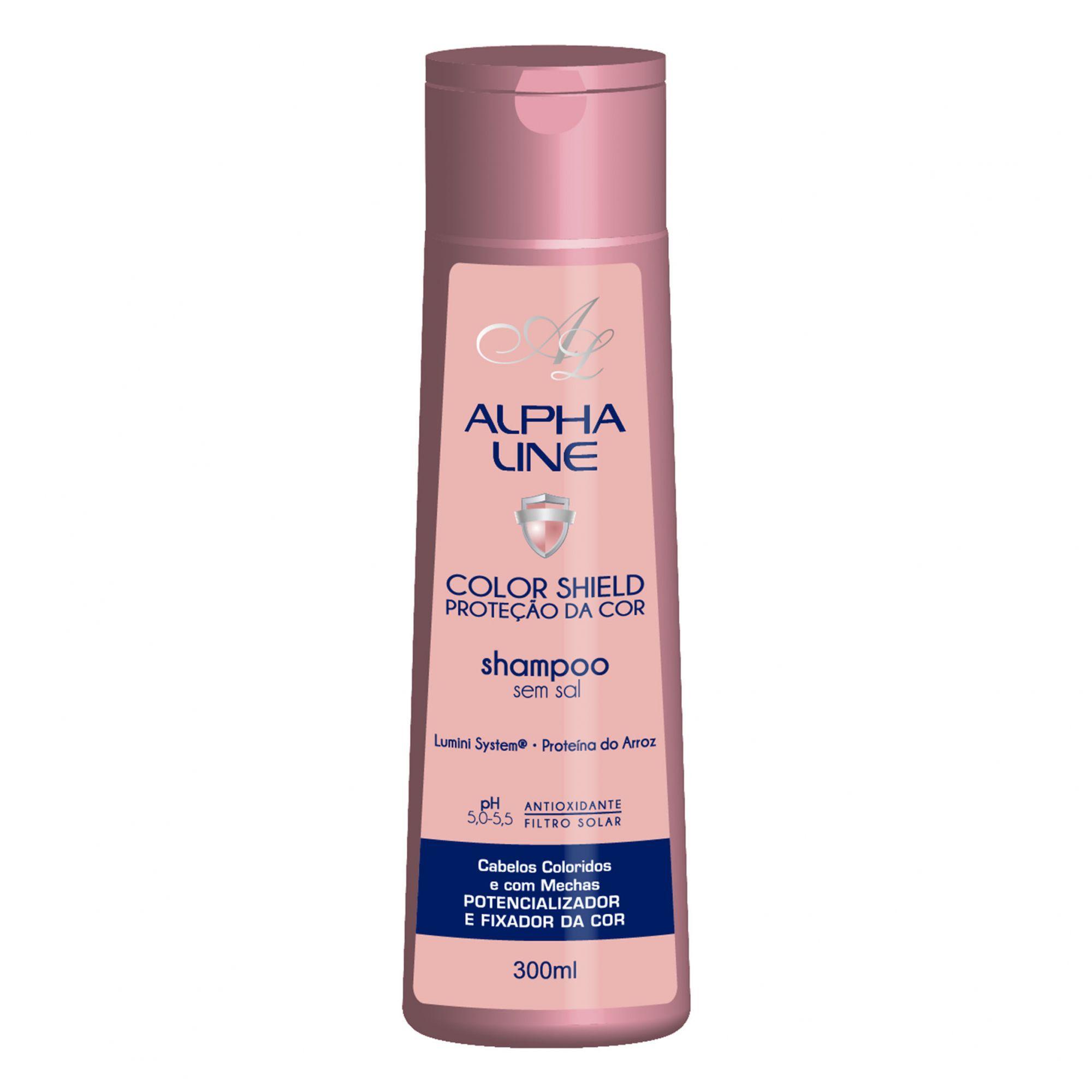 Alpha Line Shampoo Color Shield  300ml.