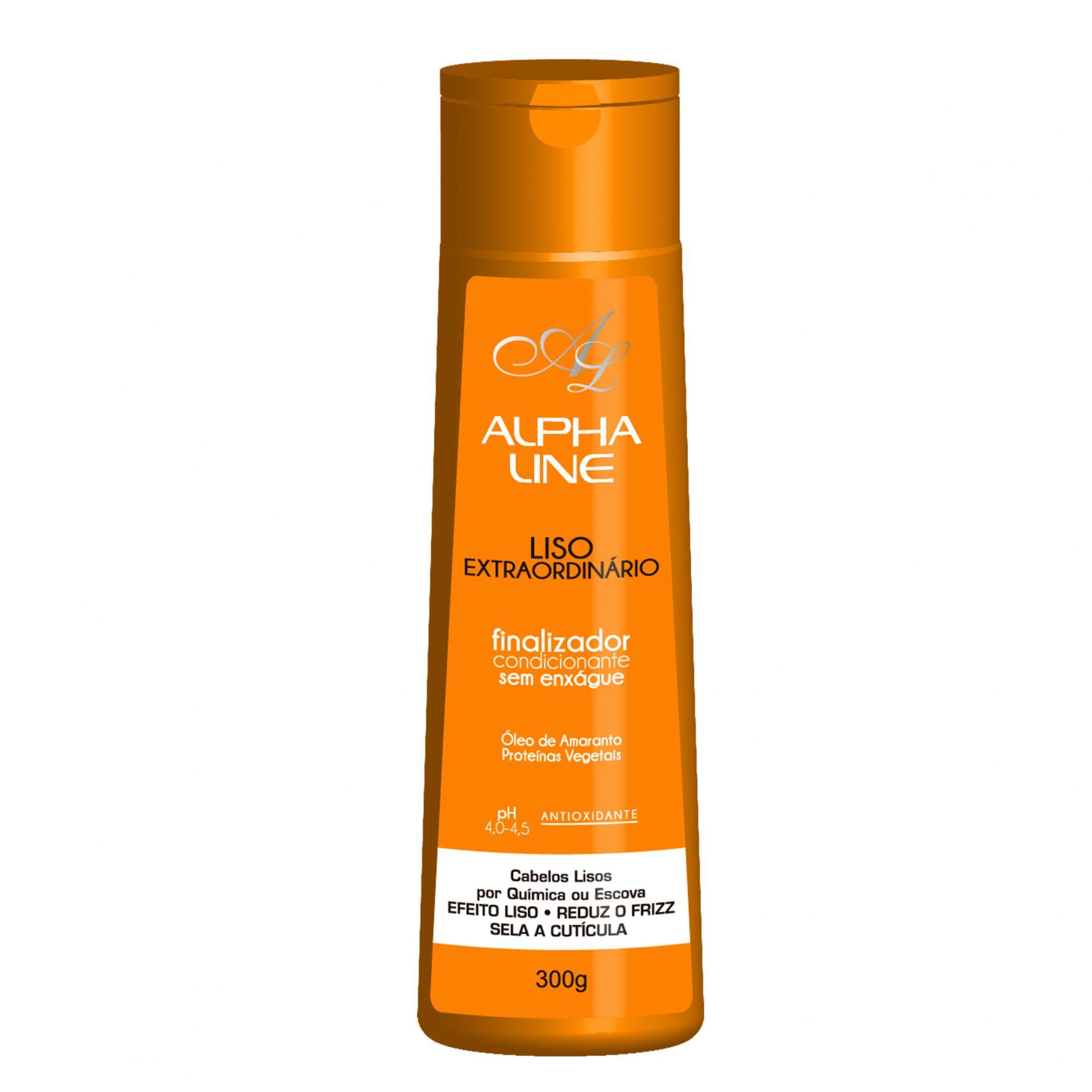 Alpha Line Liso Extraordinário Finalizador 300g.