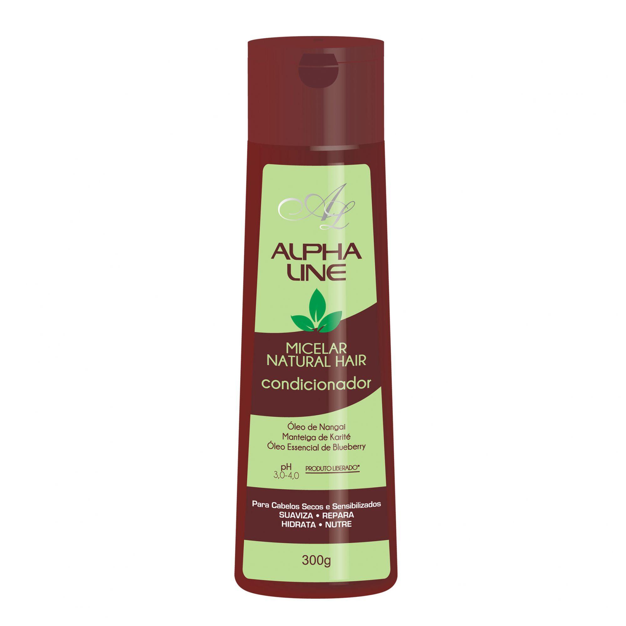 Condicionador Micelar Natural Hair 300g Alpha Line