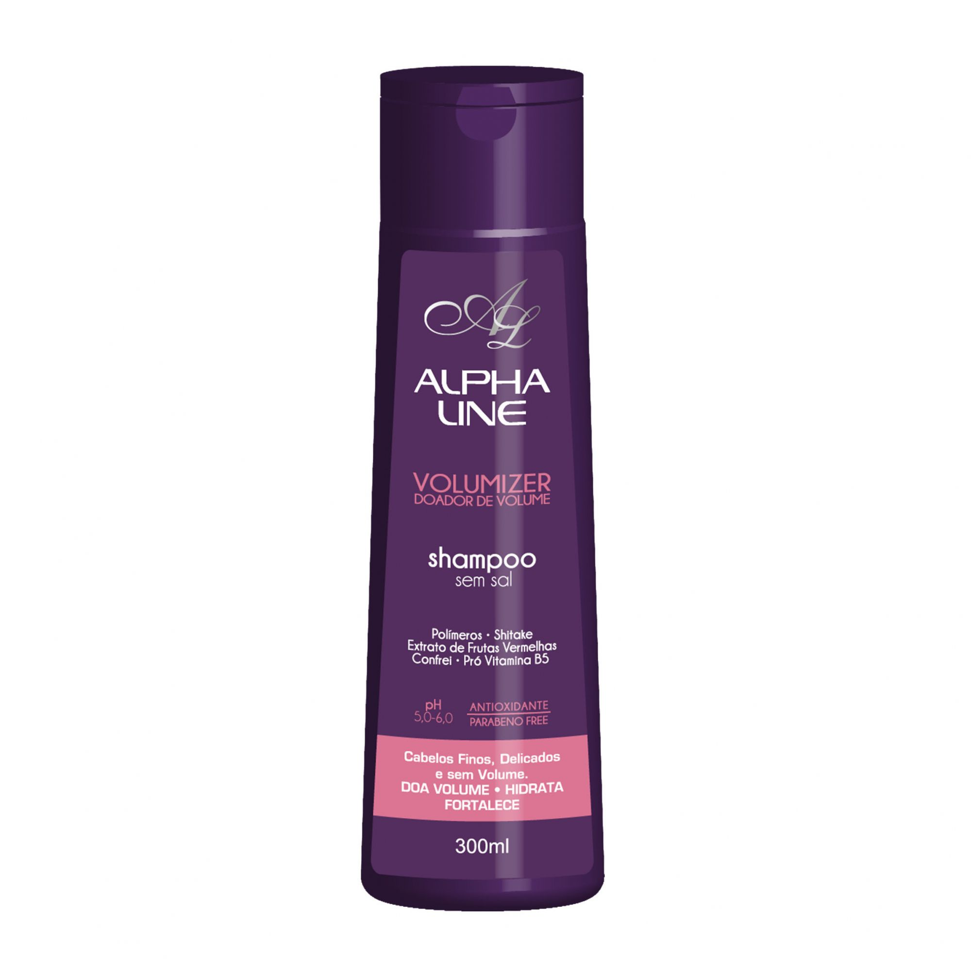 Shampoo Volumizer Doador de Volume 300ml Alpha Line