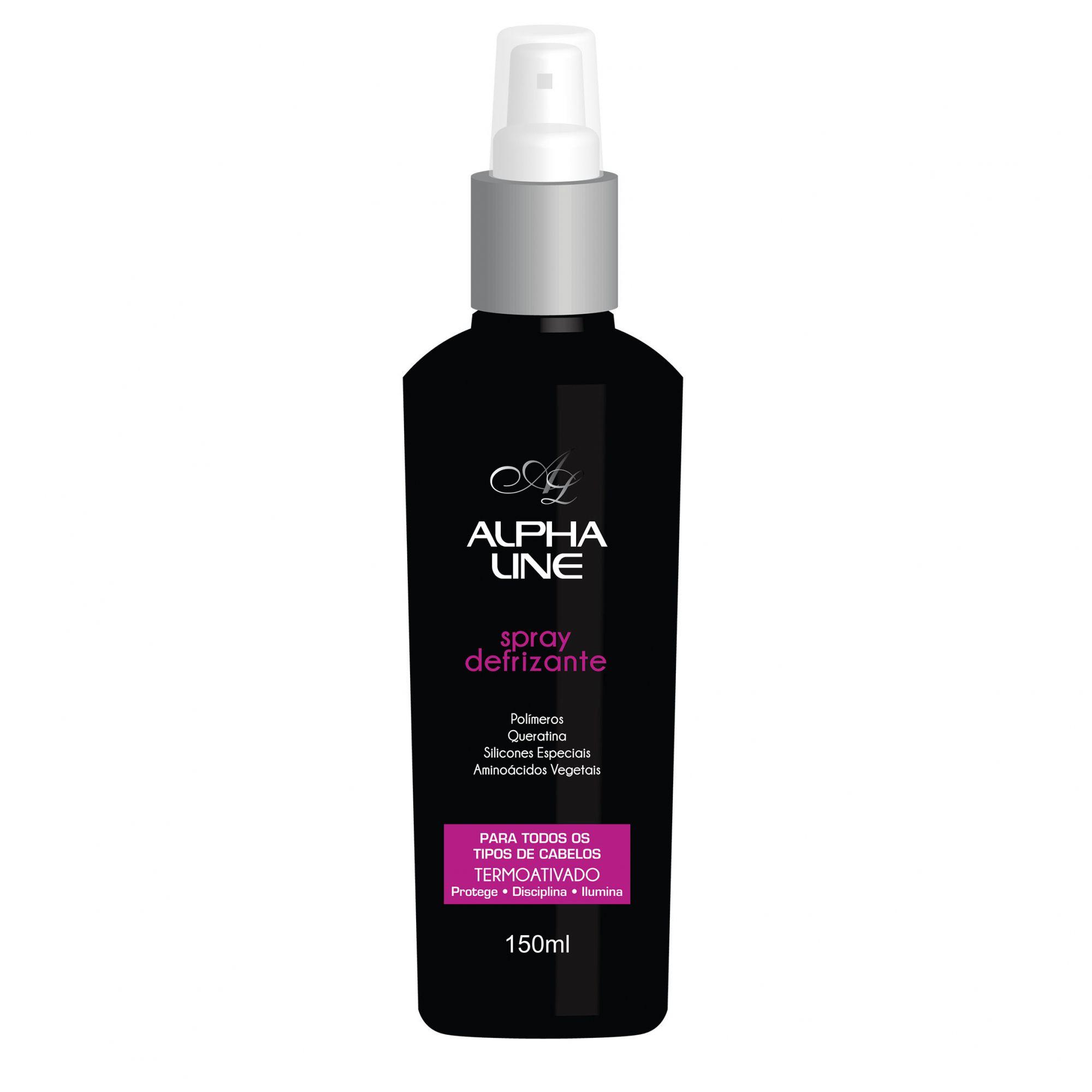 Spray Defrizante 150ml Alpha Line